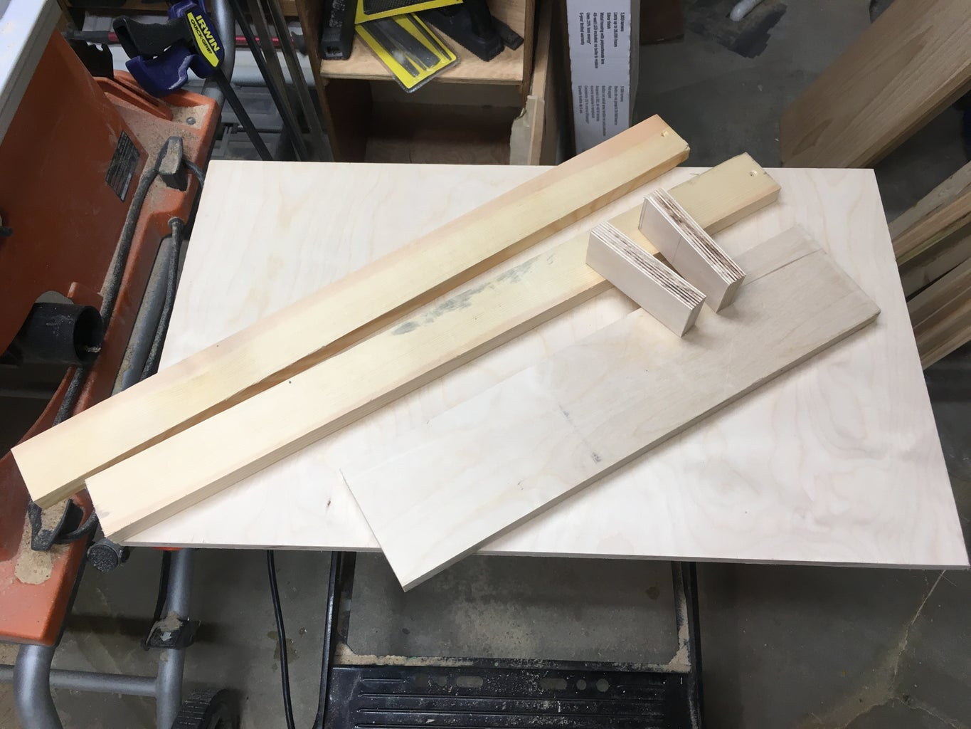 Router Planing Sled