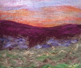 Painting With Wool; an Introduction