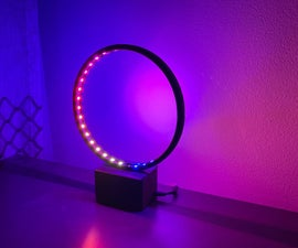 LED Ringlamp With WS2812B Led Strip