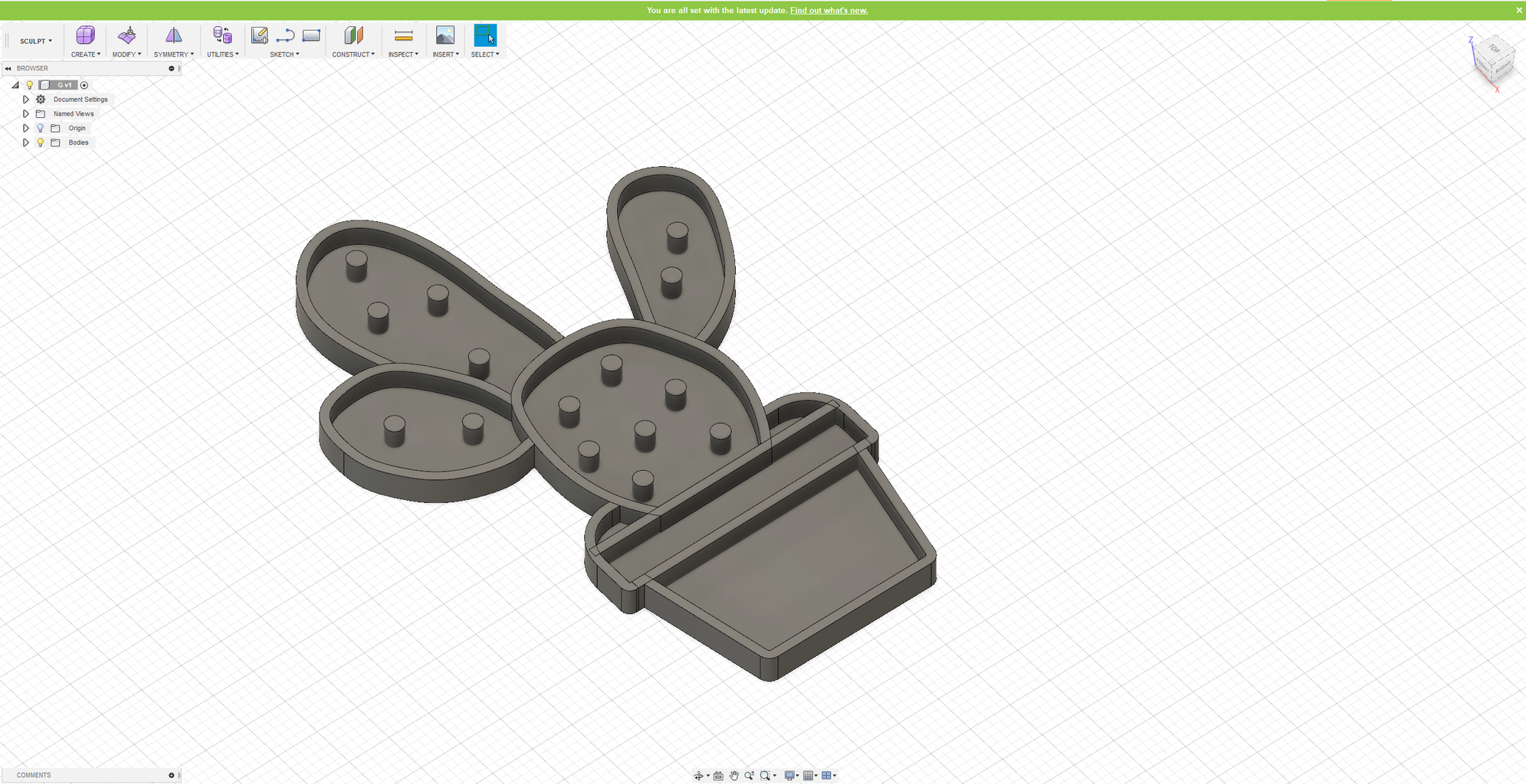 3D Printed Moulds