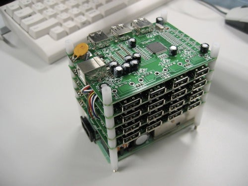 Hacking a USB Hub to Add Internal Ports to a Toshiba Satelite (or Other Laptop)