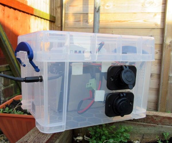 Solar Portable 12v Charger