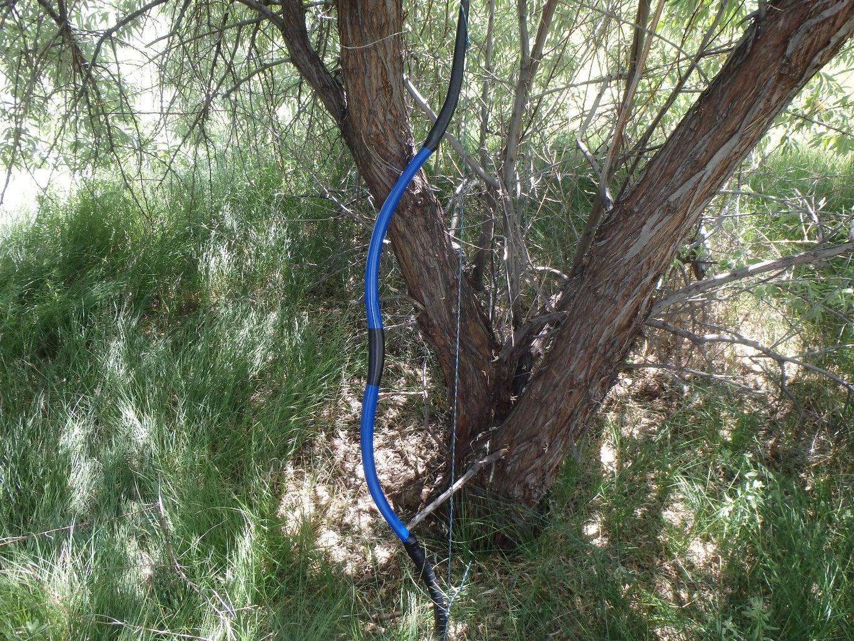 Single Piece PVC Recurve Bow