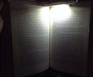 5 Min/$1 LED Reading Light