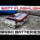 3x 1 Watt LED Flashlight
