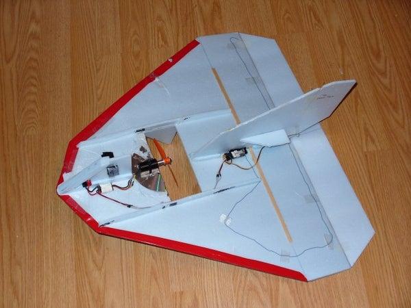 """Build a """"Warp"""", a Full-contact Combat RC Aircraft."""