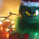 Dollar Store Fish Bowl Grinch