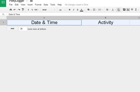 Connecting to Google Docs Spreadsheet