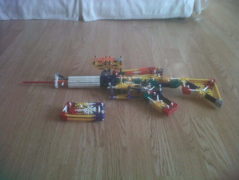 Knex M4a1 Upgrade