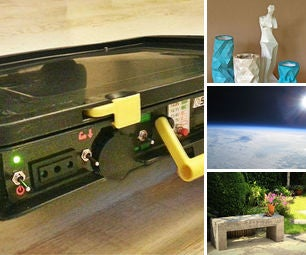 [newsletter] Portable Solar Power, Papercraft Casting, Arduino in Space