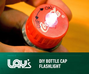 DIY Bottle Cap Flashlight