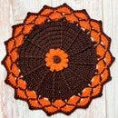 Fall Decor Autumn Crochet Placemat