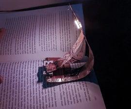 Flexible Inter-Changeable Bookmark Book Light