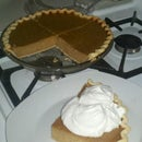 Acorn squash pie oh my! Better than pumpkin.