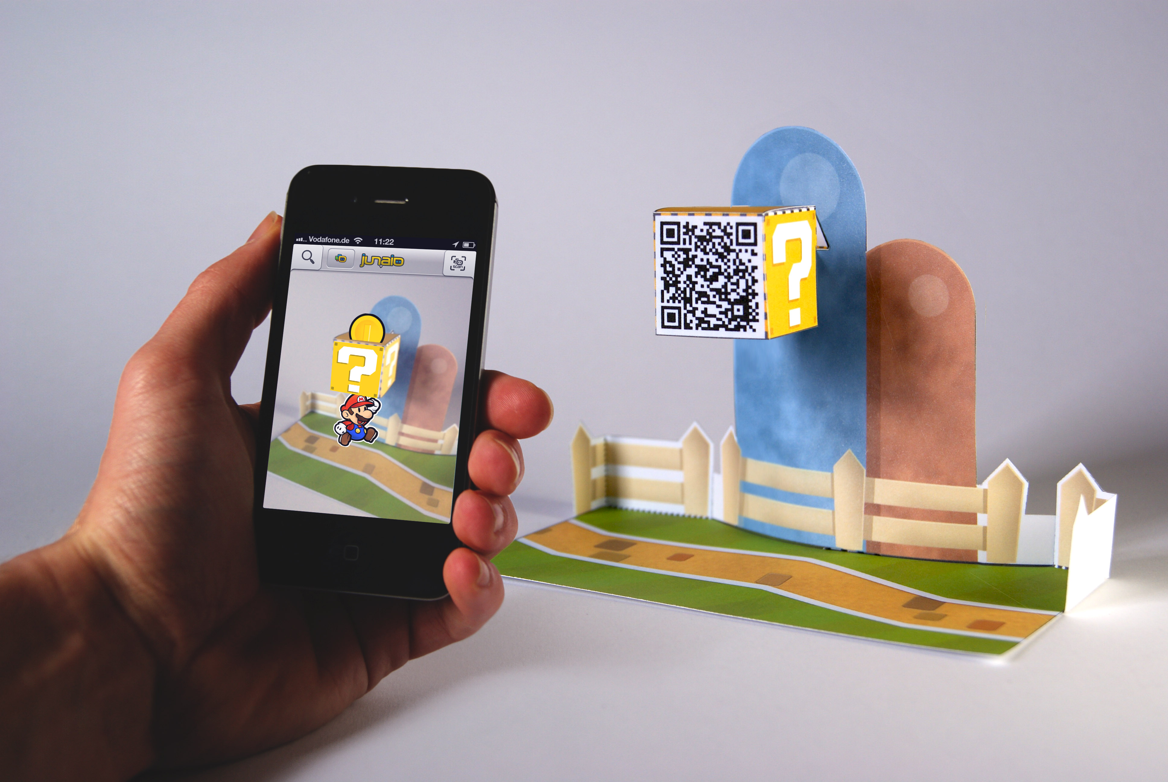 Augmented Reality Paper Mario