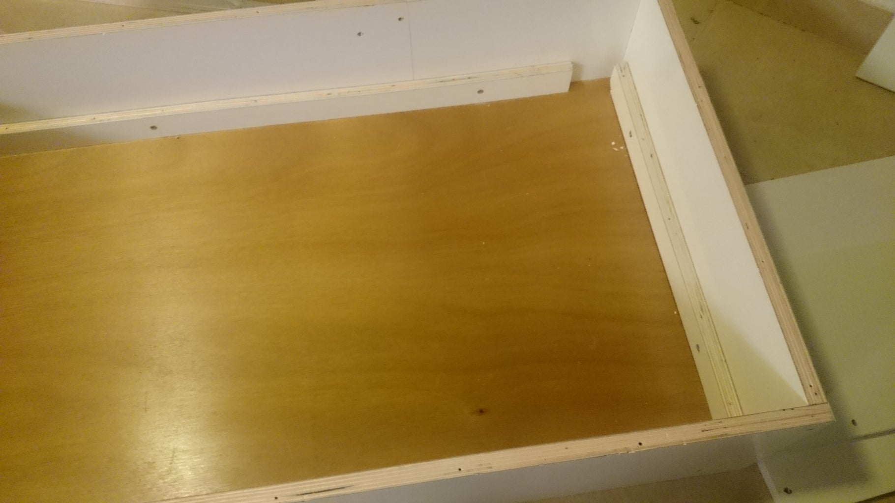 Making the Table Frame and Top Board