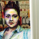 Self Portrait Watercolor Costume