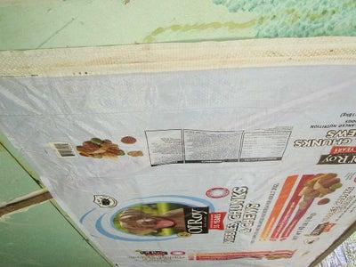 Bagging the Door Insulation