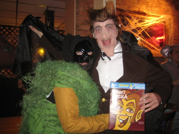 Count Chocula Cereal Costume - 2011