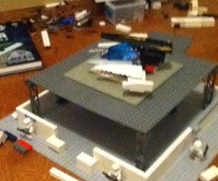 Lego Starwars Base/storage Area