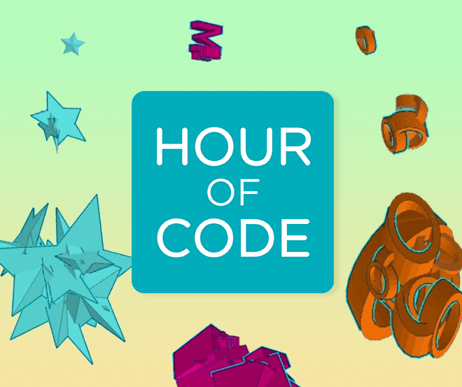Hour of Code: Make Patterns With Code and CAD in Tinkercad