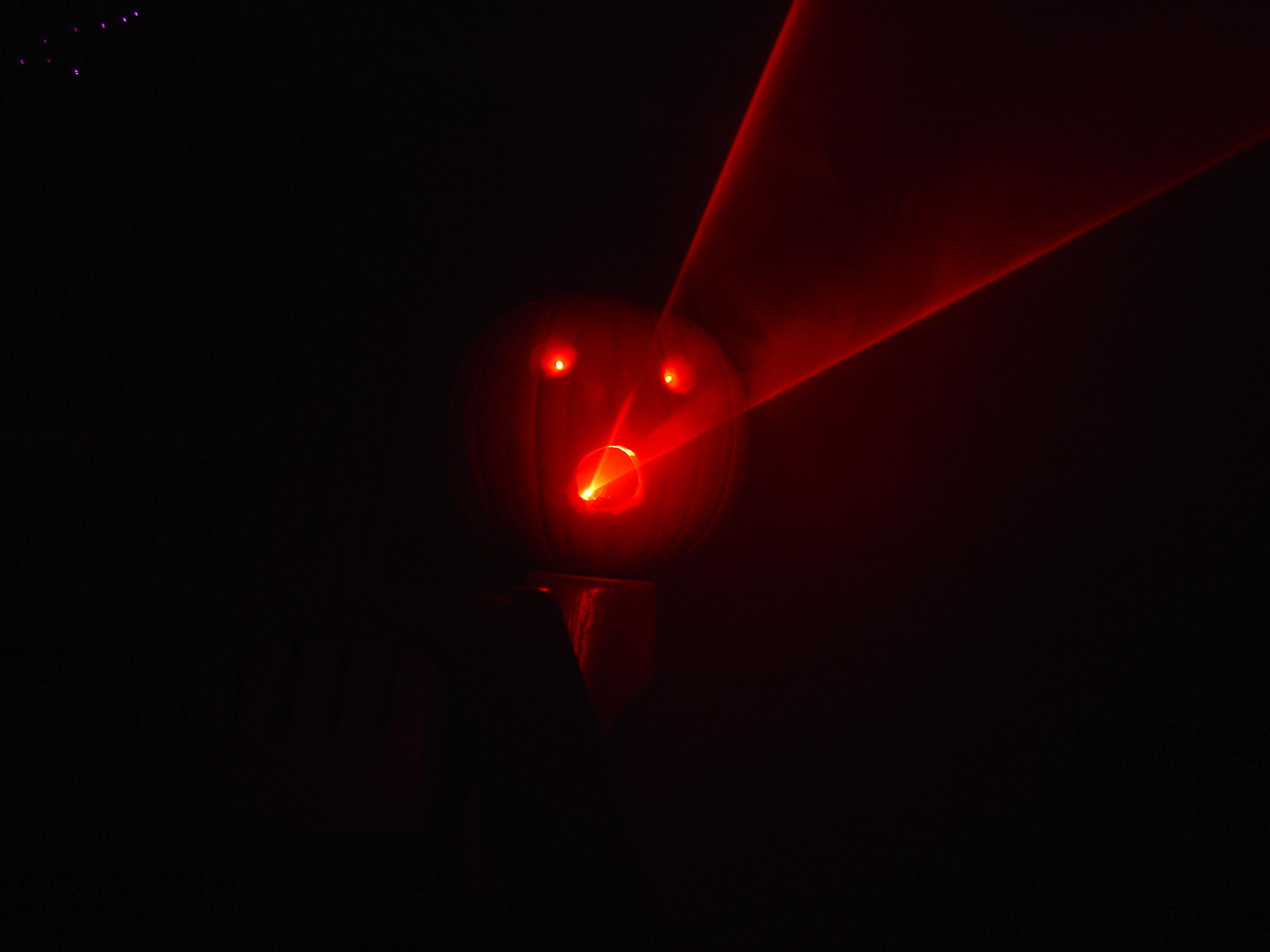 Jack-O-Laser of Doom