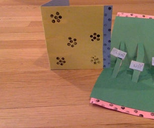 3D Art Deco Card( With Homemade Stamps)