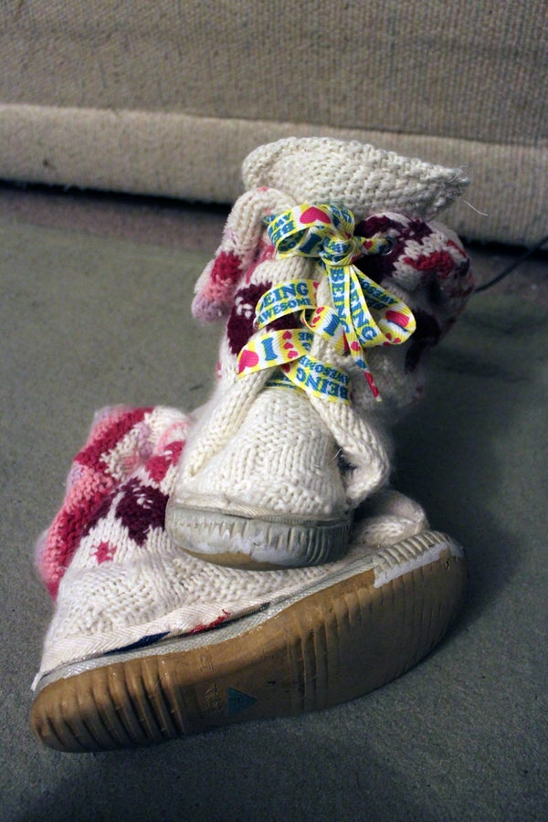 How to Make a Recycled Sweater Boot