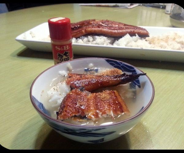 Japanese BBQ Eel - Unagi Hitsumabushi