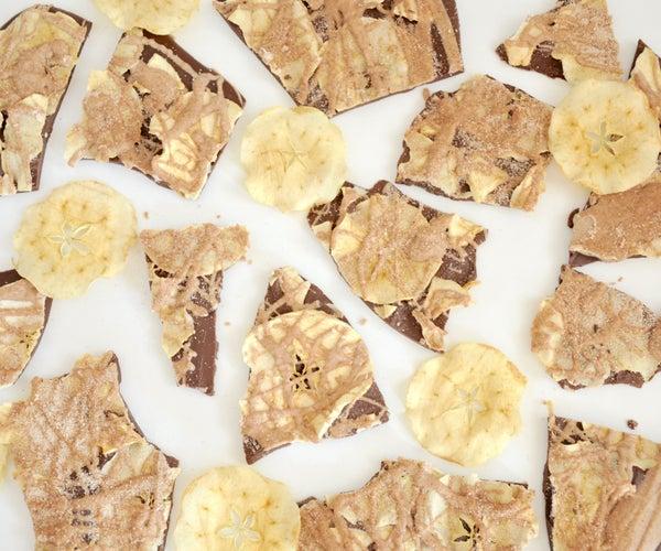 Cinnamon Apple Chocolate Bark