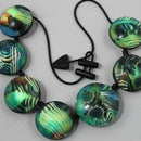 Illuminated Polymer Clay Necklace