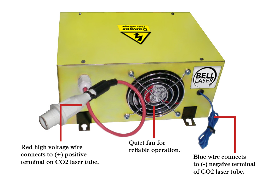 How to test and set a Chinese (China) made CO2 Laser Power Supply to get long life from your CO2 Laser Tube for your Laser Engraving and Laser Cutting Machine System