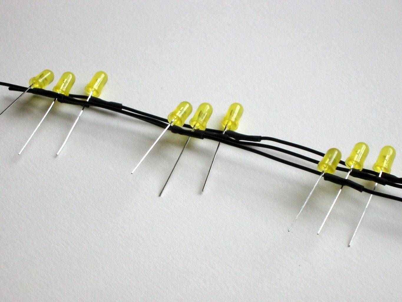 Making the LED Matrix -- Cathode Chains