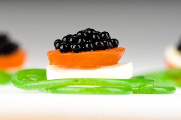 Molecular Gastronomy - Balsamic Vinegar Pearls by MOLECULE-R