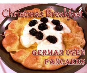 Christmas Breakfast - German Oven Pancakes