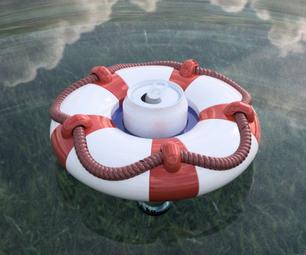 3D Printed Drink Pool Floaty