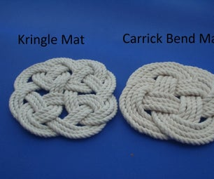 Kringle Mat and Carrick Bend Mat