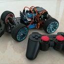 Servo Steering Robot Car for Arduino