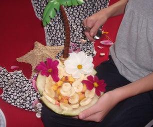 Un-scary Halloween Fruity Dessert