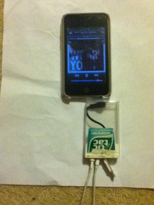 Tic-Tac Double Headphone Jack!