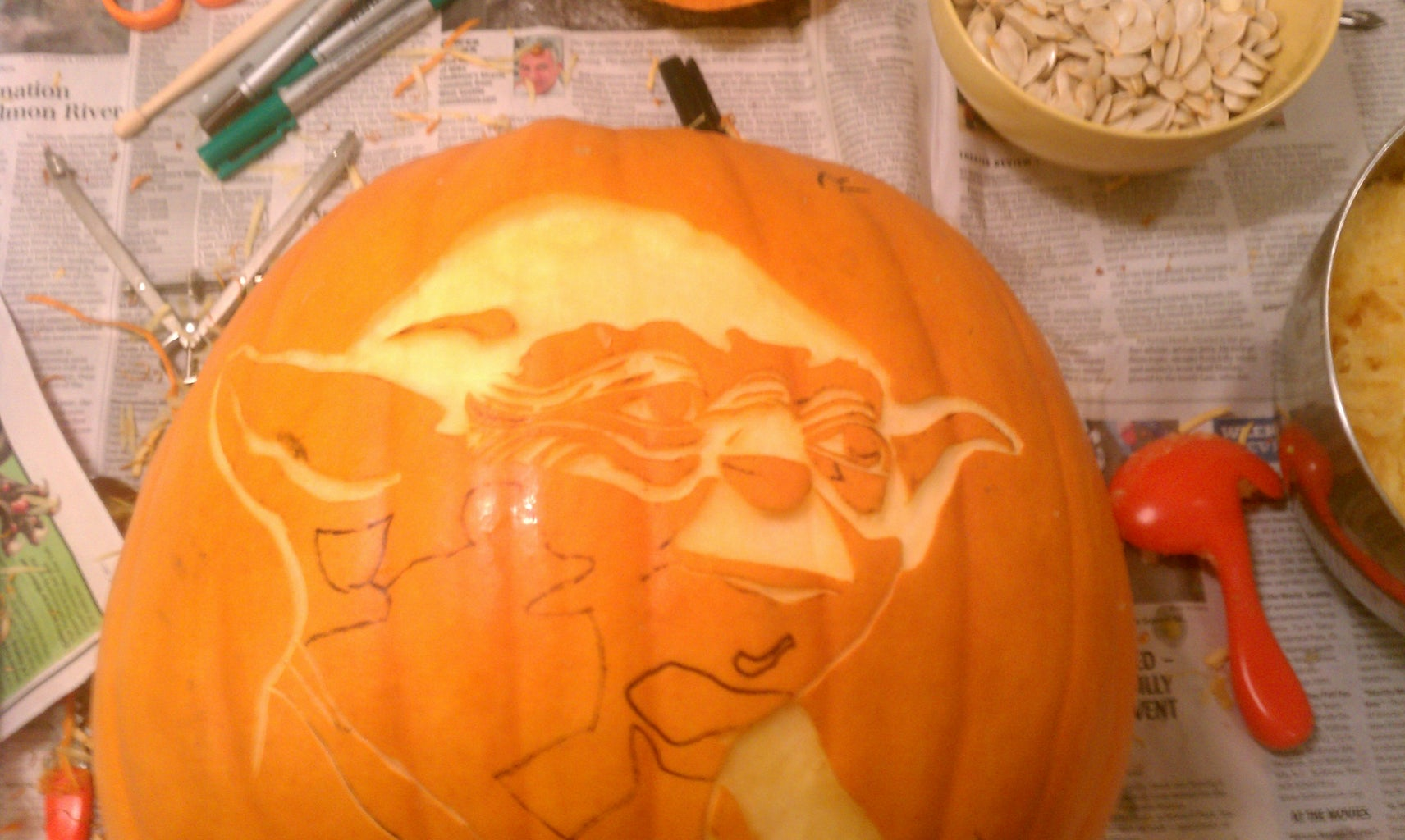 Time to Start Carving!