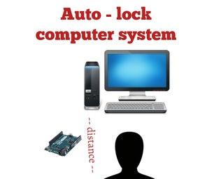 Auto Lock Computer System