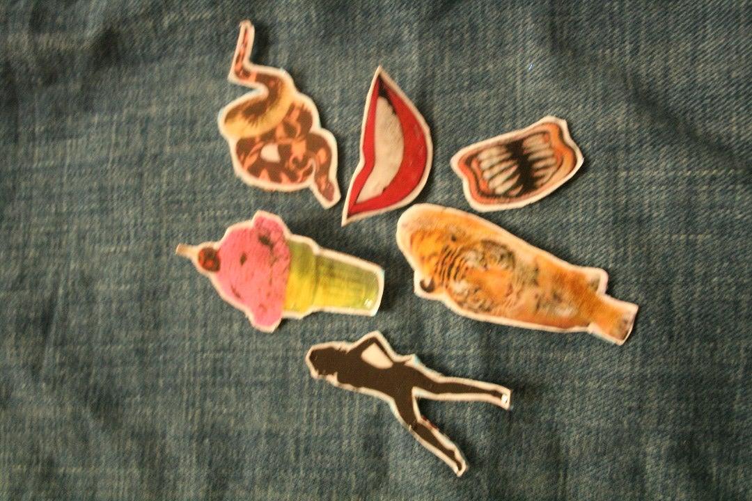 Duran Duran Paper Gods Pins