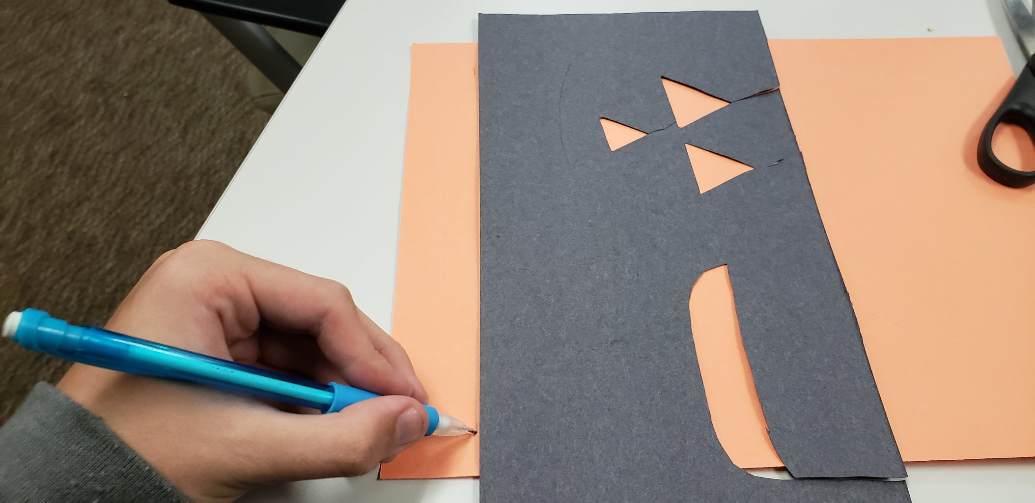 Step 1: Make Guidelines for Cutting