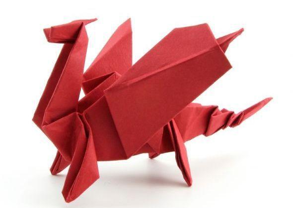 Origami Dragon - Video Tutorial