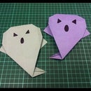 How to Make an Origami Paper Ghost.
