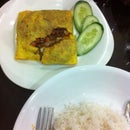 Egg Wrap Mince Meat And Vege