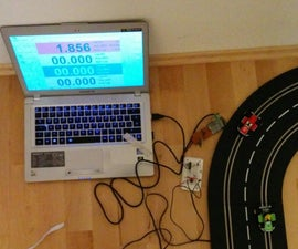 Cheap USB Slotcar Timer Interface V3.0 Working!