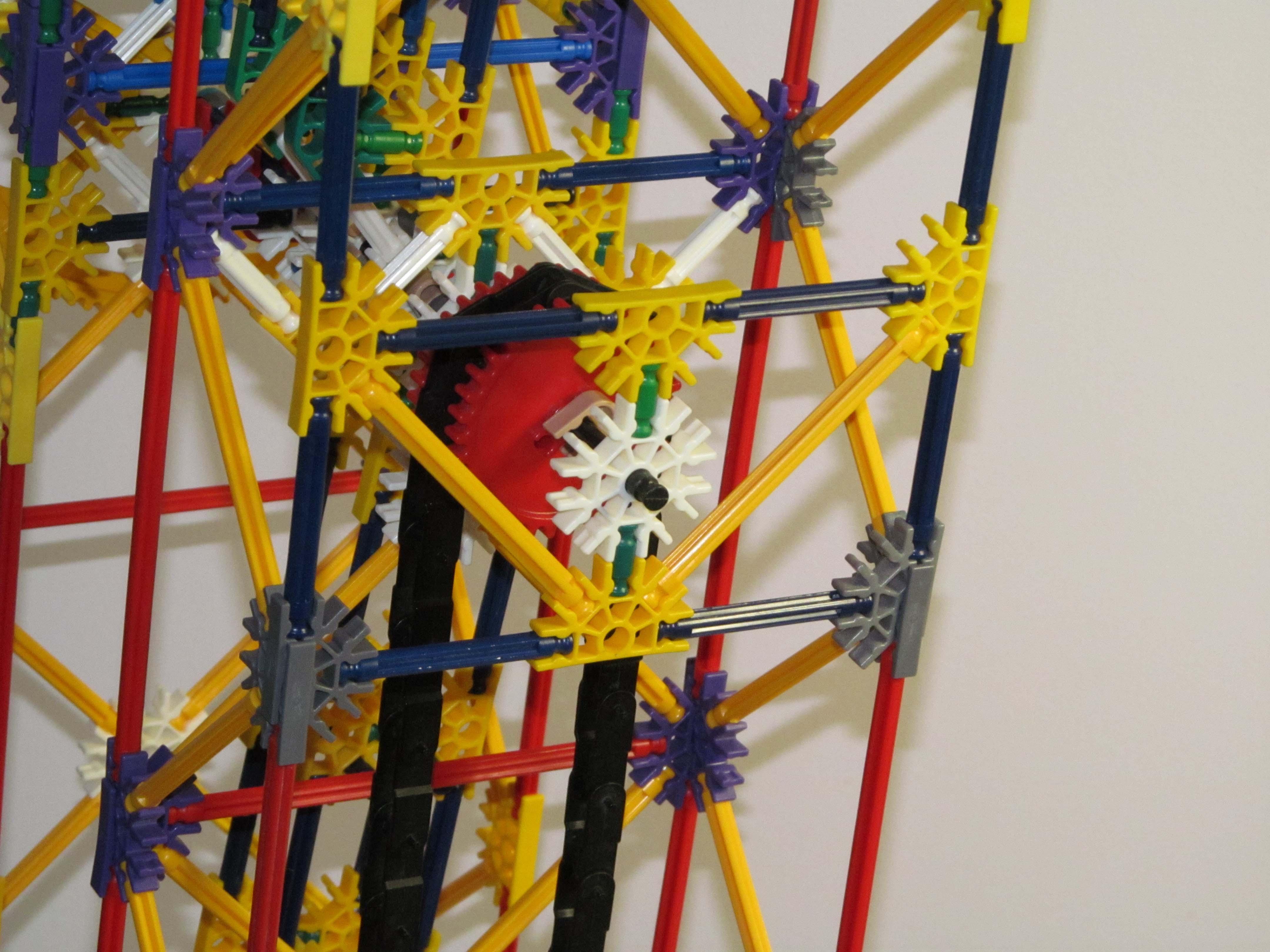 Short Start Arm Lift: a K'nex Ball Machine Lift