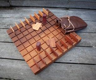 Wooden Quoridor Boardgame